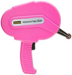 3M™ Scotch® Advanced Tape Glider, Pink Applicator with 2 rolls of 1/4 Inch tape