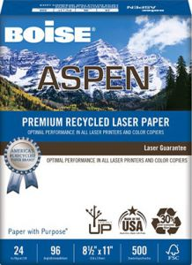 Aspen® Premium Recycled Laser